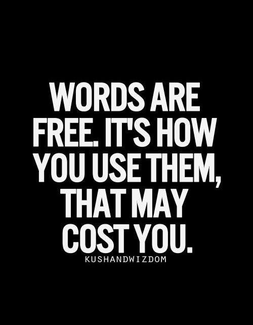 words-are-free-but