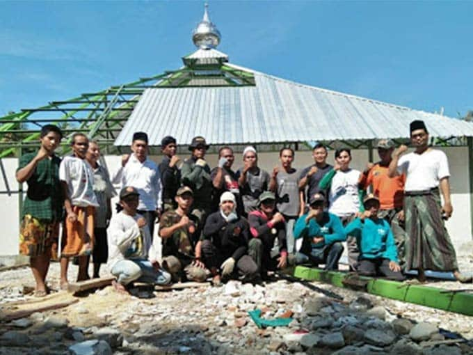 masjid dari warga nu