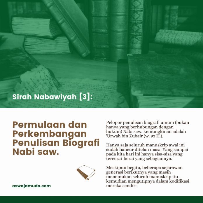 Permulaan dan perkembangan penulisan biografi Nabi saw